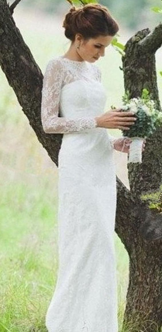 Casual Elegant Wedding Dresses