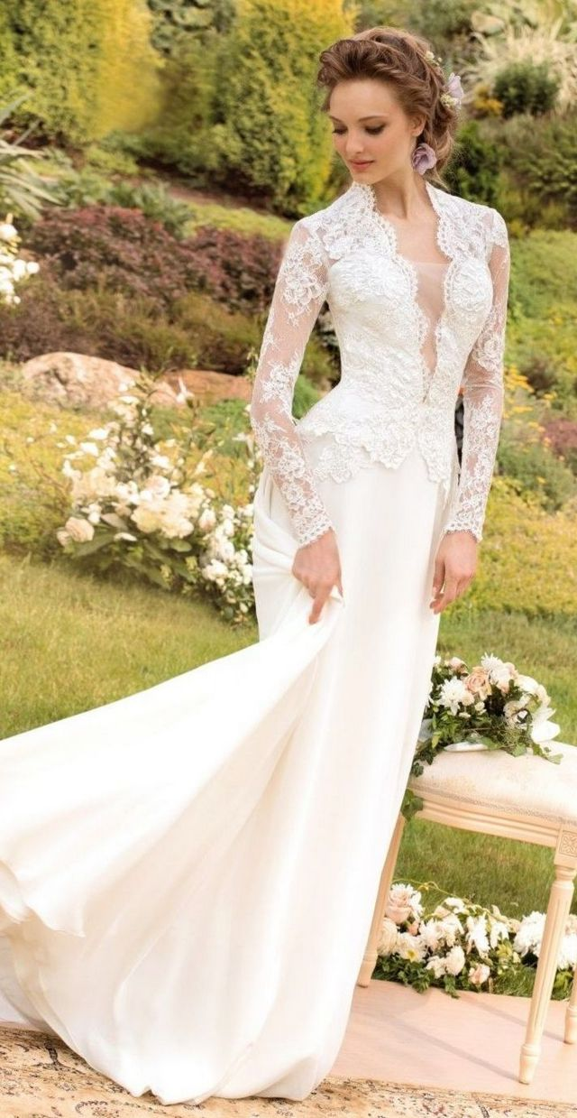 Elegant Beach Wedding Gowns