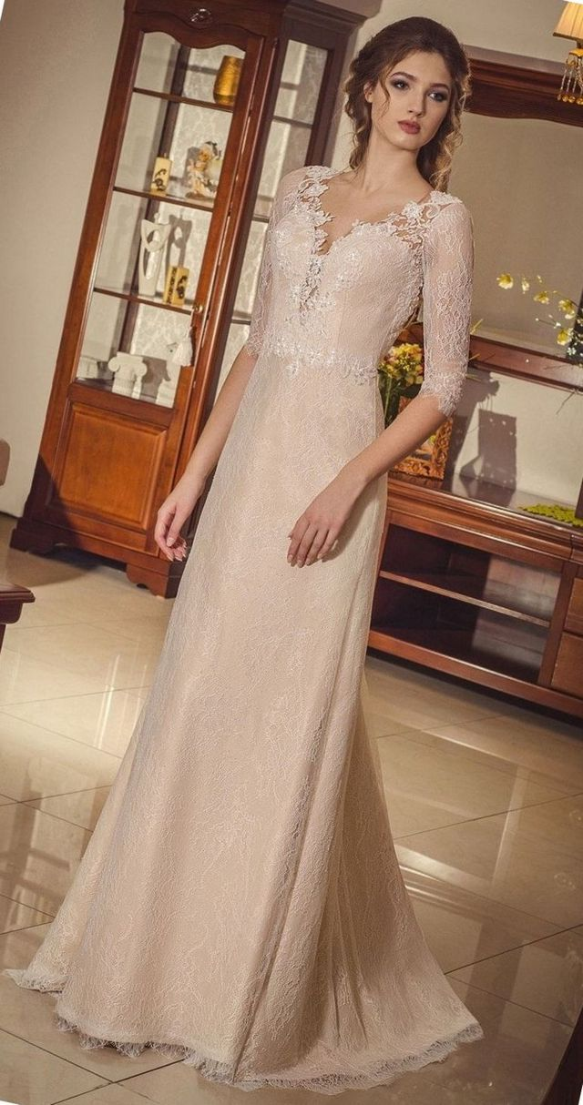 Lace Elegant Wedding Dresses