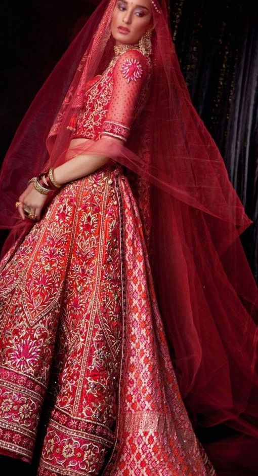 Latest Wedding Dresses Indian
