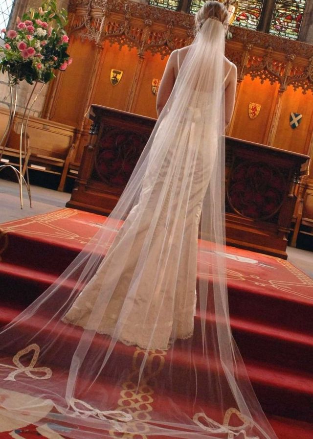 Long Wedding Veils