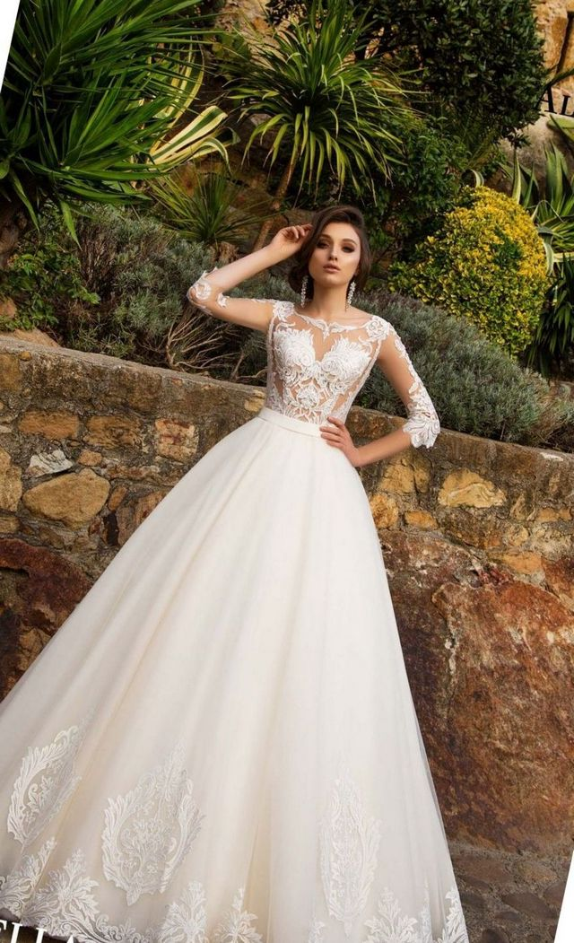 Simple Elegant Bridal Dresses