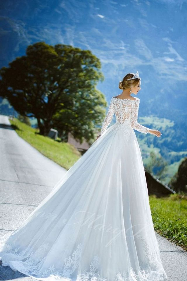 Simple Elegant Wedding Dresses Image
