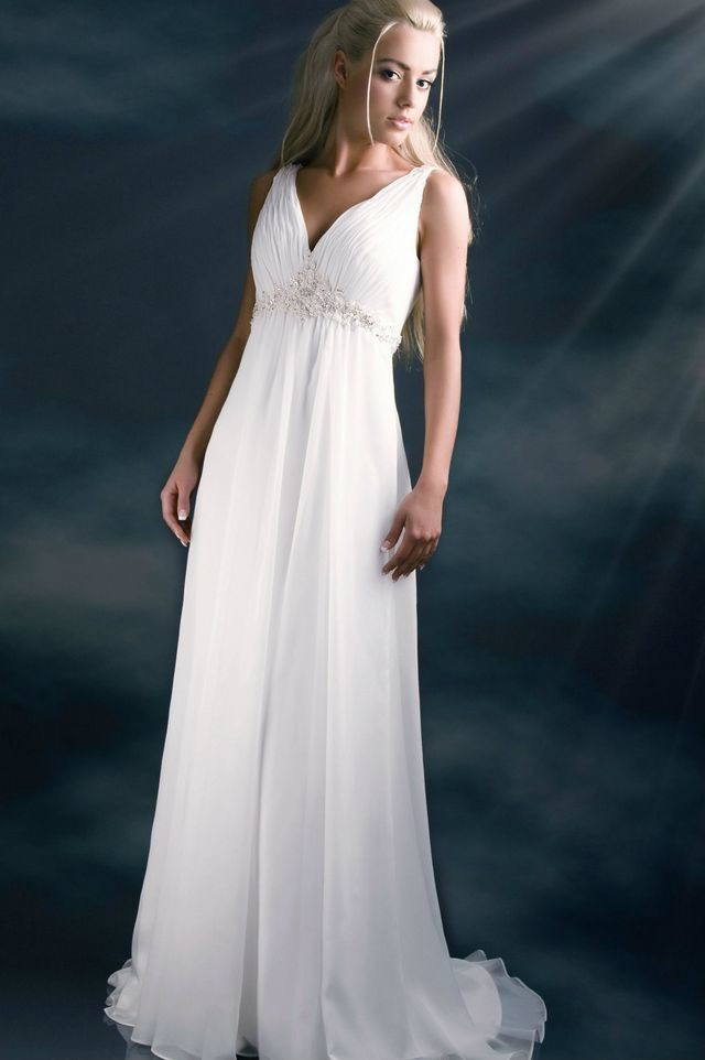 ancient greek wedding dresses