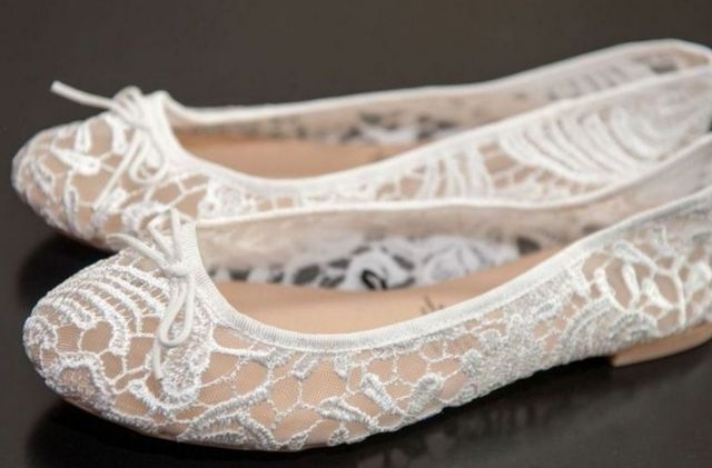 ballet flats for wedding dress