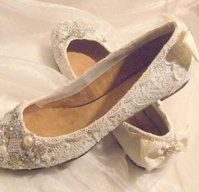 ballet flats for wedding picture