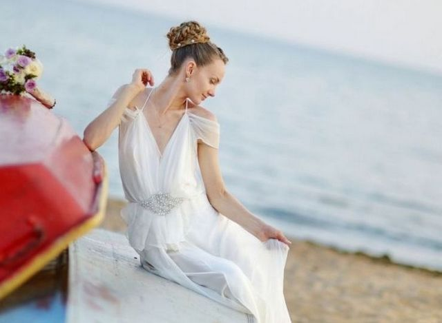 beach wedding dresses for bridesmaids