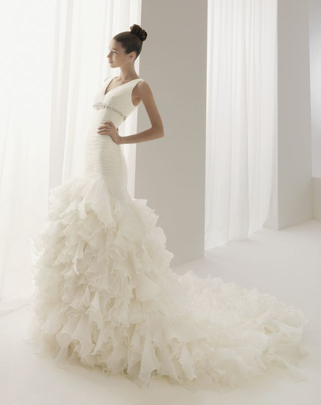 beautiful non short wedding dresses