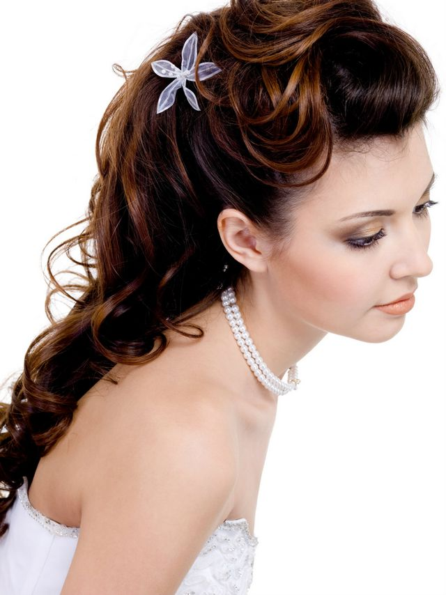 beautiful wedding hairstyles for long hair