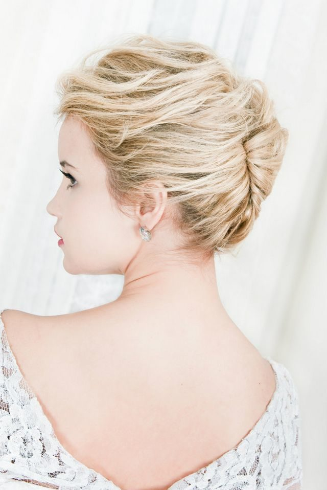 beautiful wedding hairstyles for short hair