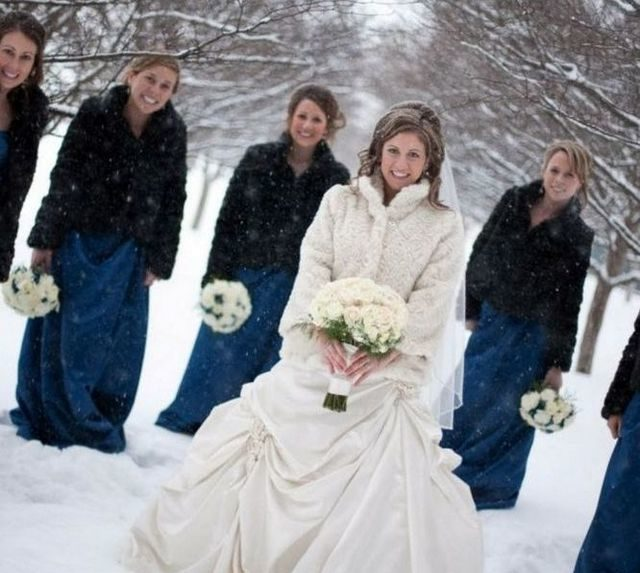 best winter wedding dress