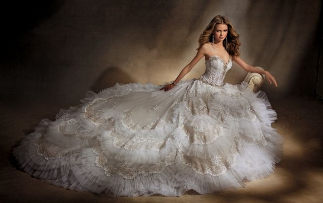big beautiful wedding dresses