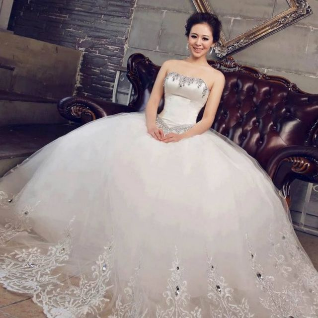Big Puffy Princess Wedding Dresses