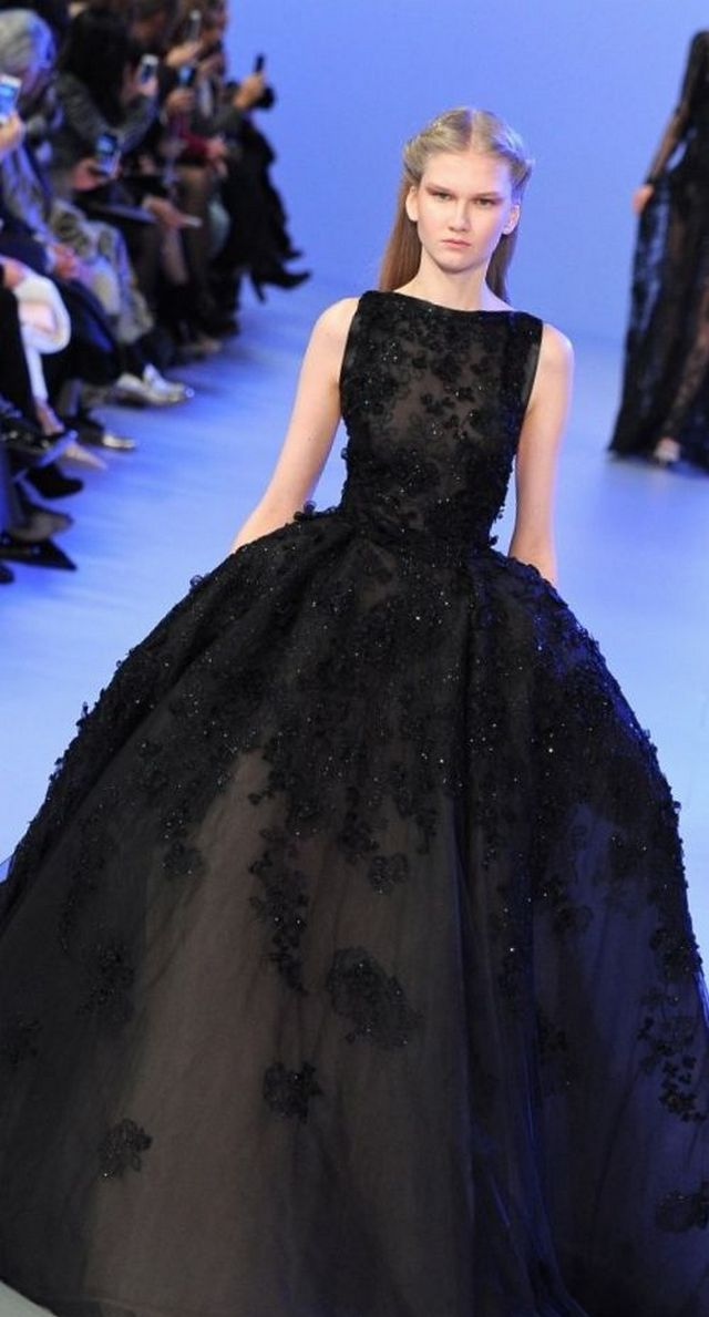 black dress for wedding