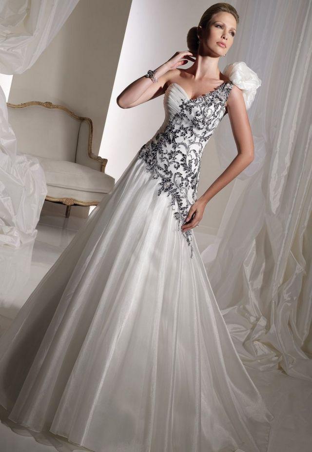 black tie wedding dresses