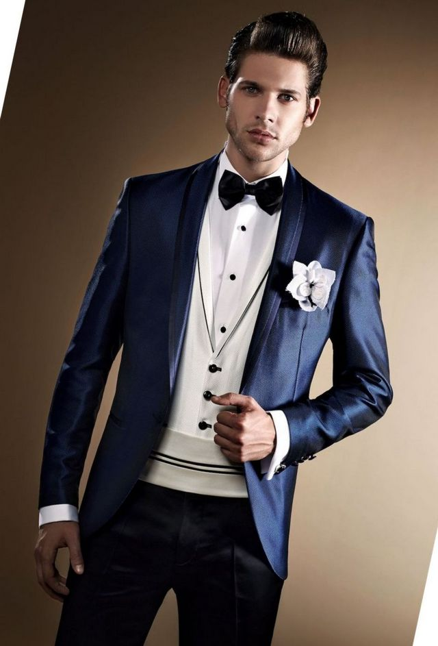 black wedding suits for groom