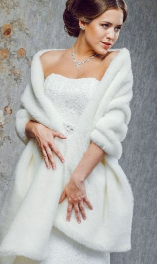 white winter wedding gowns