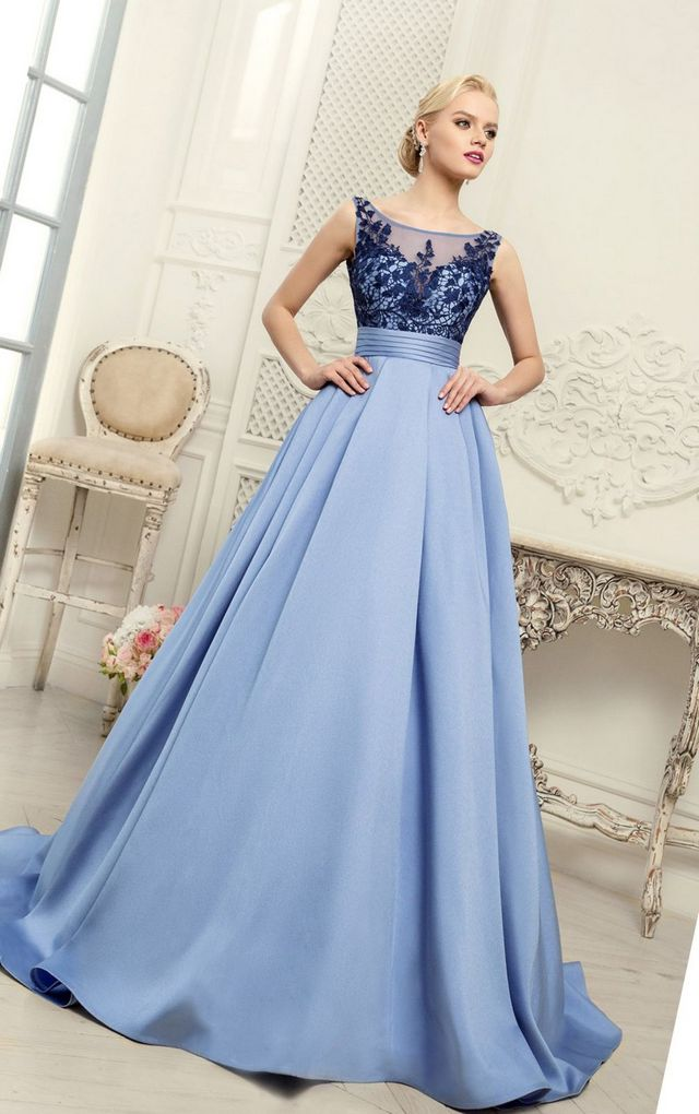 bridal blue gowns