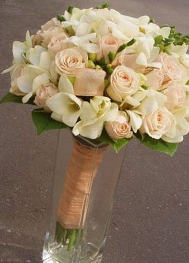 bridal bouquet freesia picture