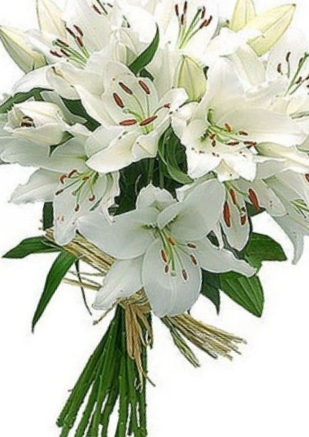 bridal bouquet lily of the valley