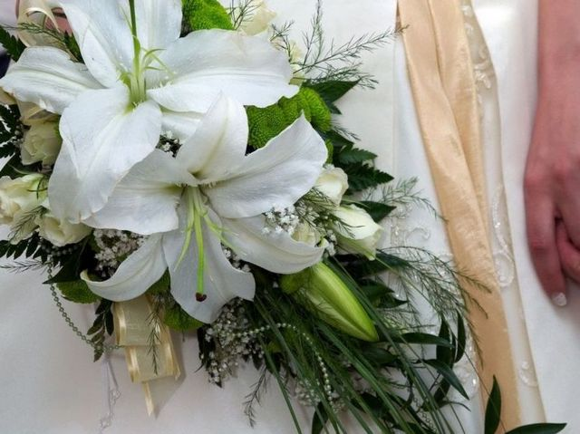 bridal bouquets arum lily