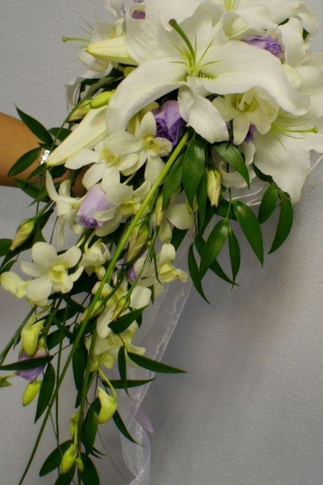 bridal bouquets calla lilies roses
