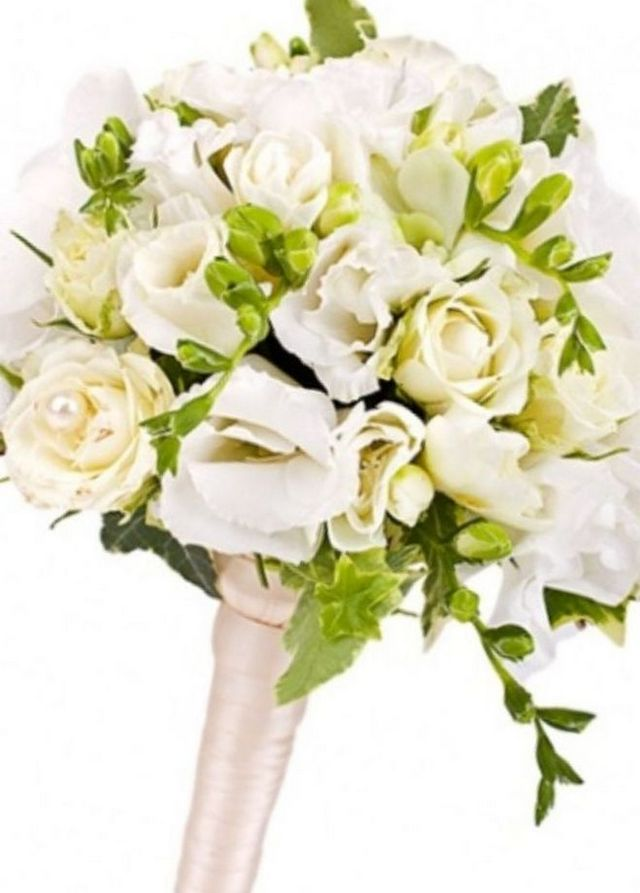 bridal bouquets with freesias