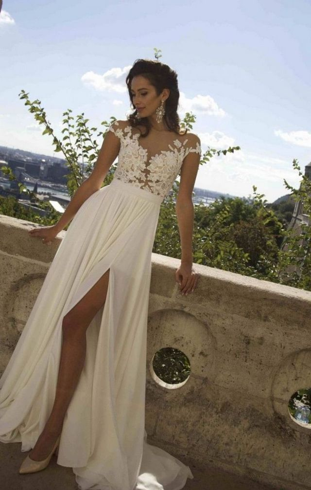 bridal dress in summer