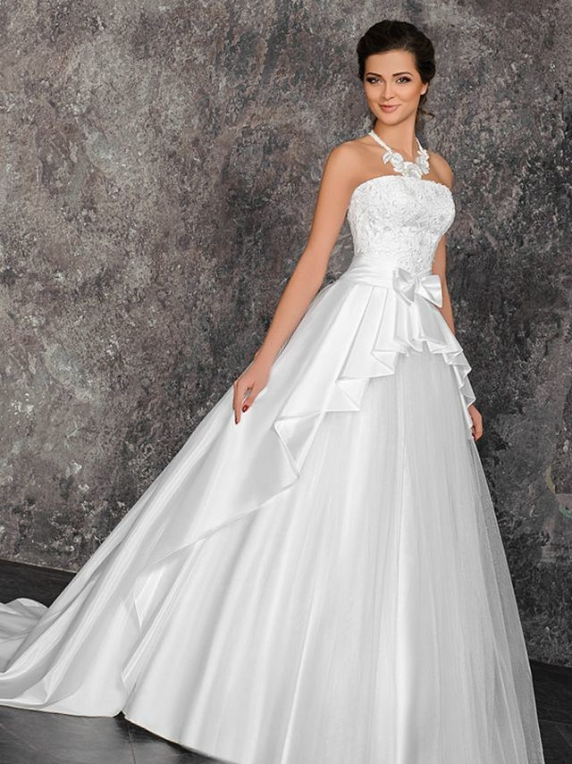 bridal dresses train photos