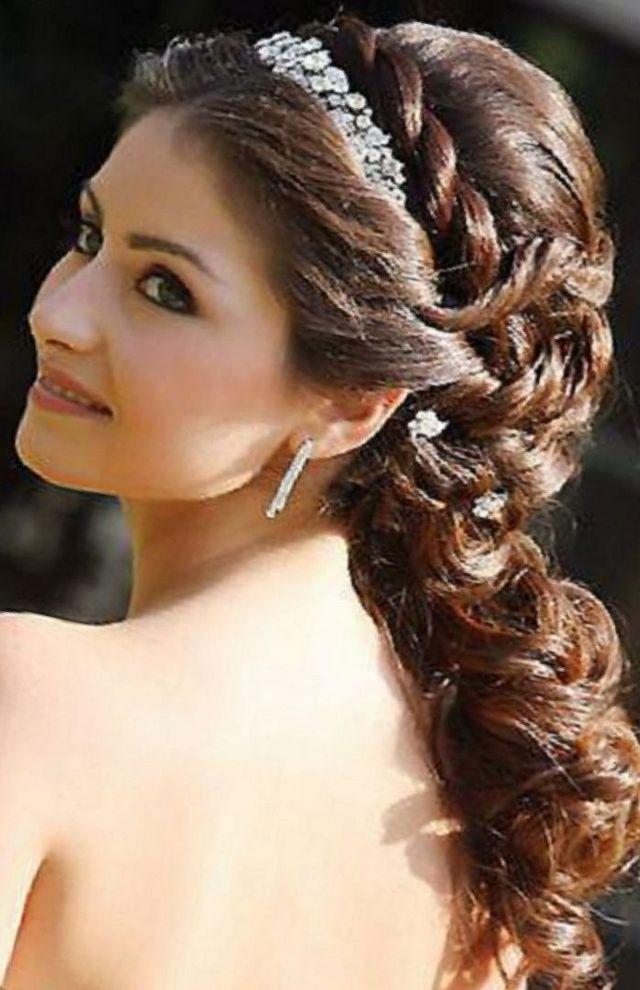 bridal hair greek goddess