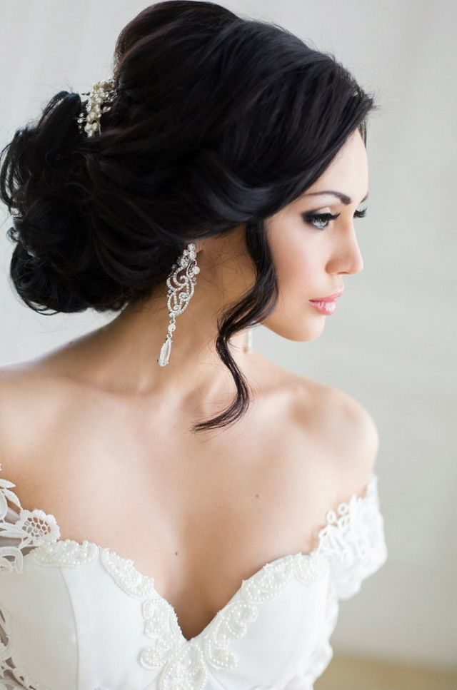 bridal hairstyles for long hair image