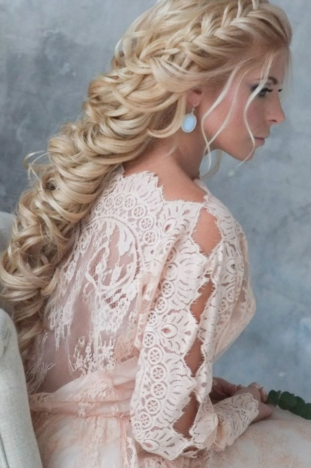 bridal hairstyles for long hair picture