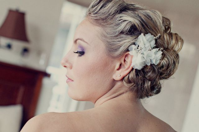 bridal hairstyles for short hair without bangs