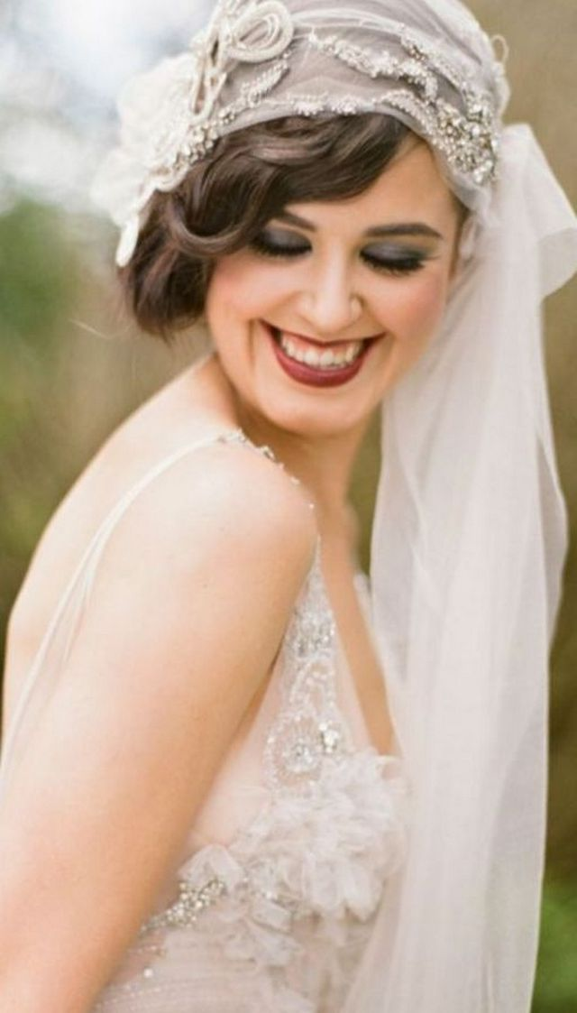 bridal hairstyles with long veil photo