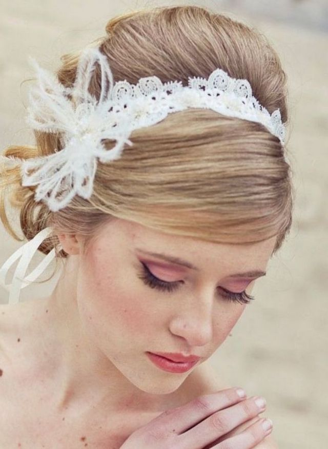 bridal headpieces with crystals