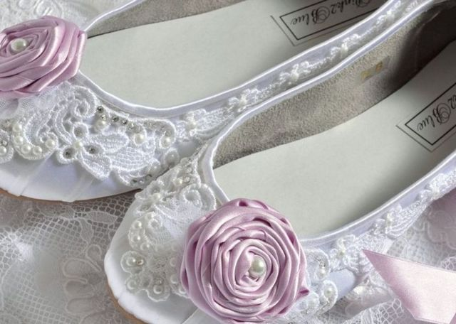 pink bridal shoes without heels
