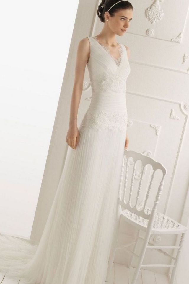cheap beach wedding dresses photo