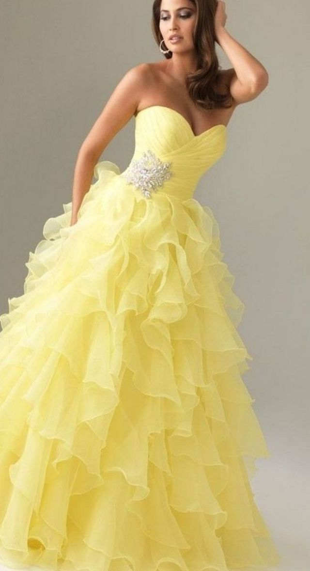 cheap colored wedding dresses photo