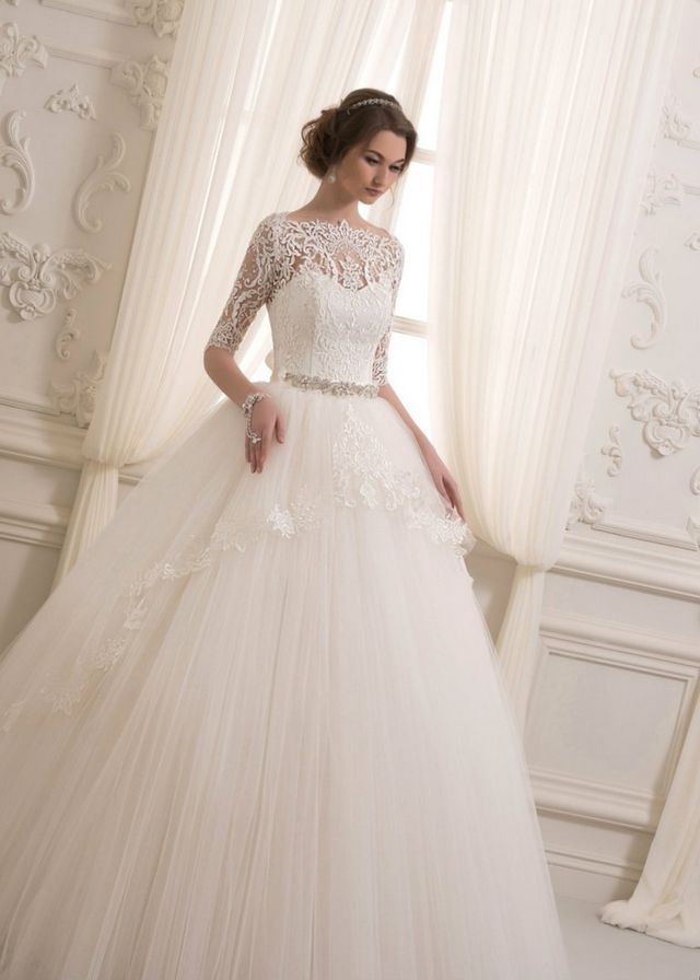 cheap puffy wedding dresses