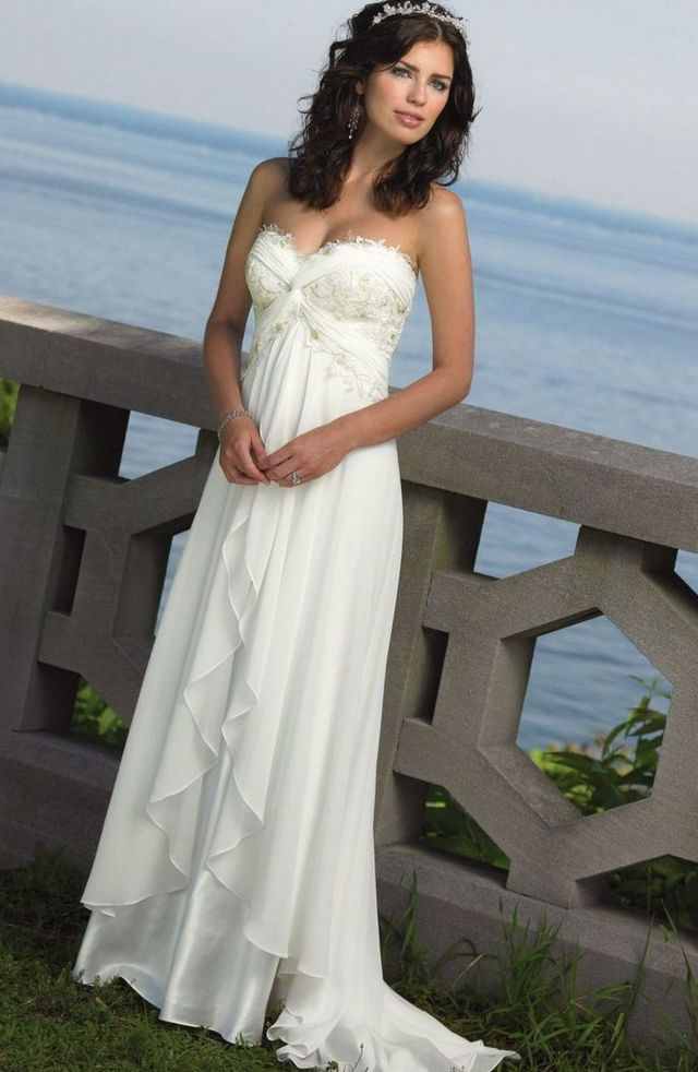 cheap unique wedding dresses photo