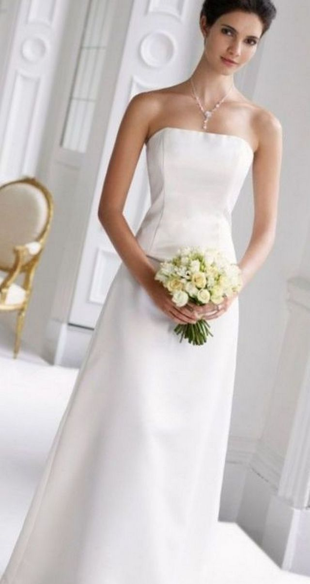 cheap white wedding dresses