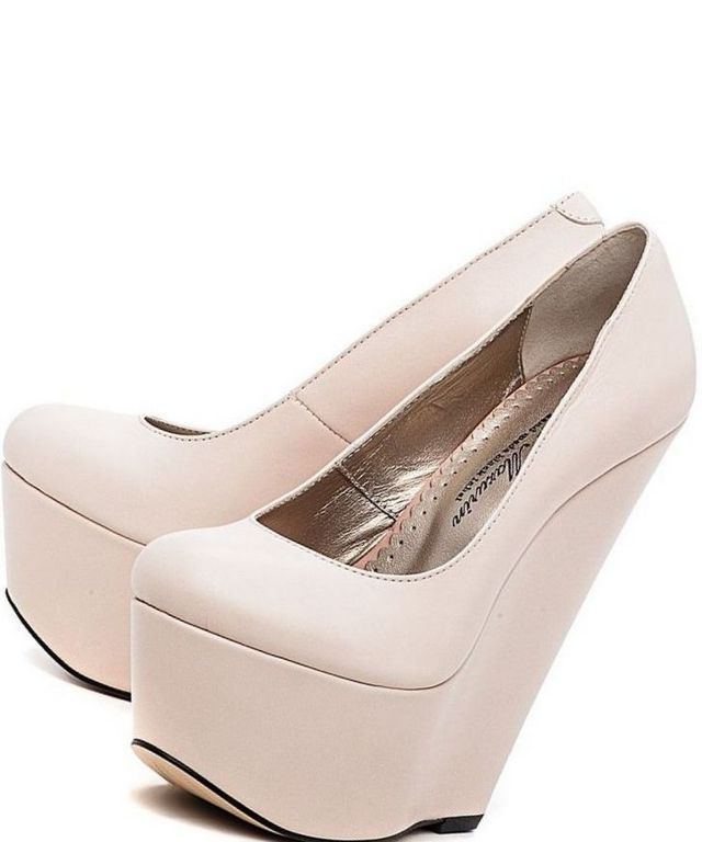 closed toe platform wedding shoes