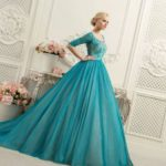 colored short wedding gowns