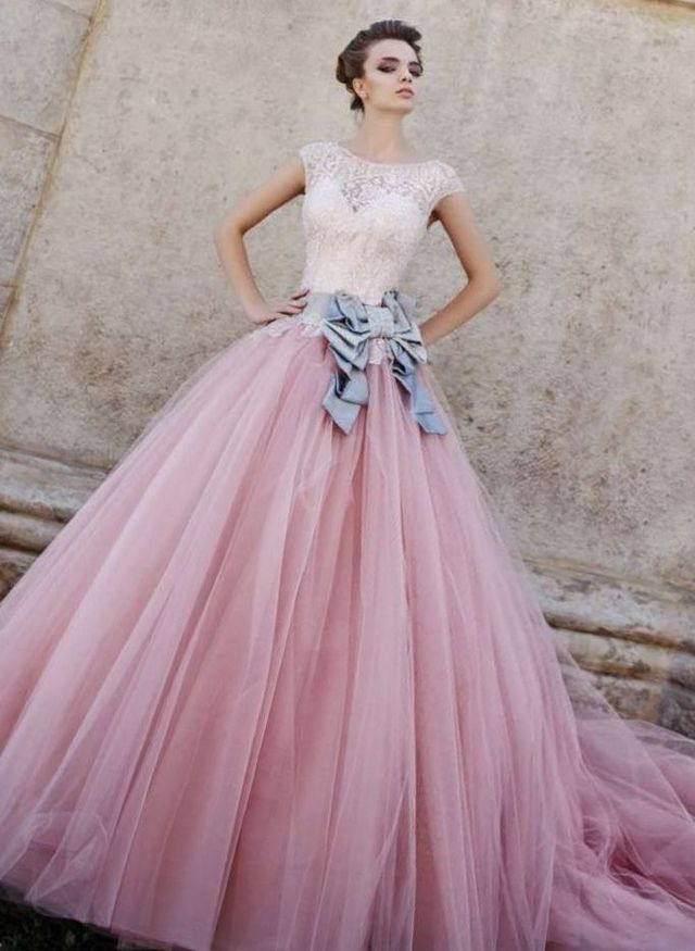 colored wedding gowns 2017