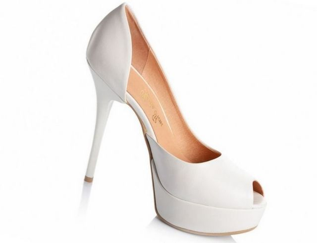 crystal wedding shoes high heels