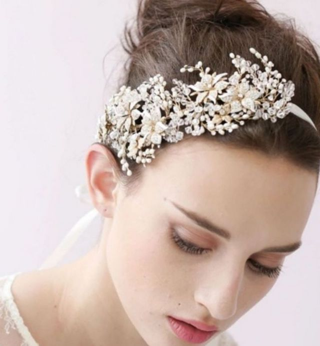 cute wedding headbands photo