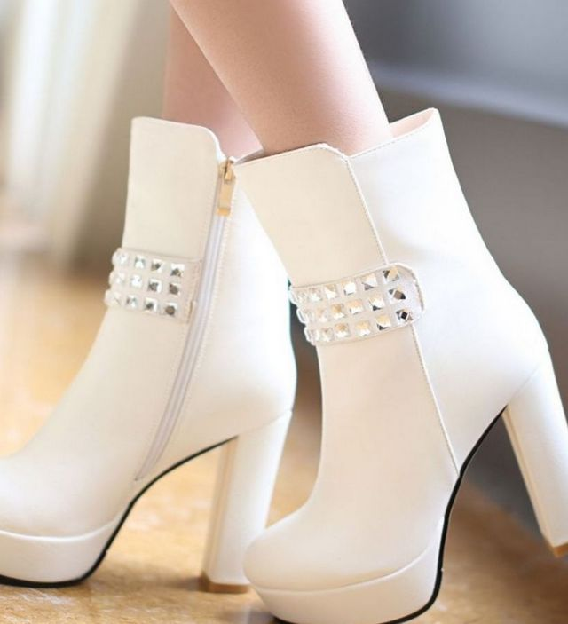 designer platform wedding shoes
