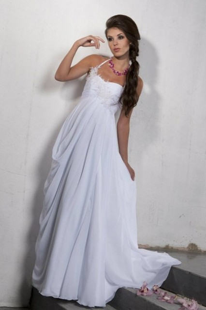 designer wedding dress for pregnant
