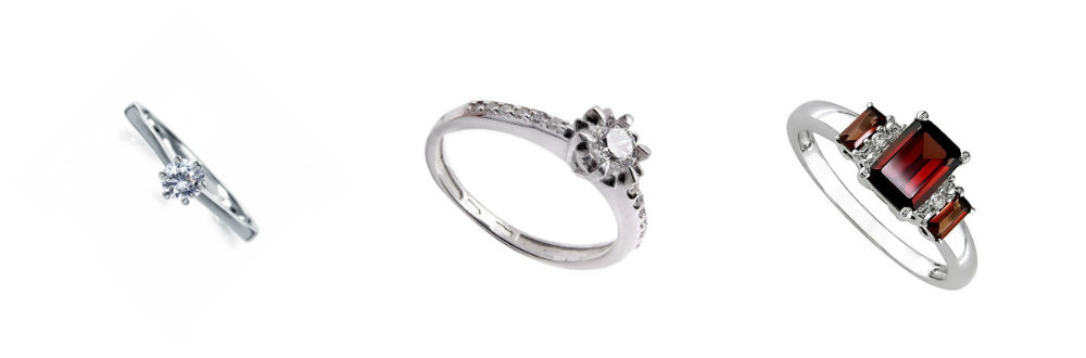 diamond engagement ring sets