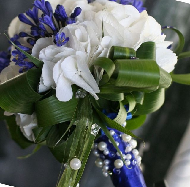 diy hydrangea wedding bouquet